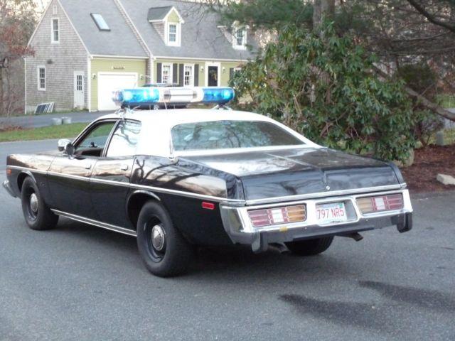 1977 Dodge Monaco Former California Highway Patrol 9927 for sale