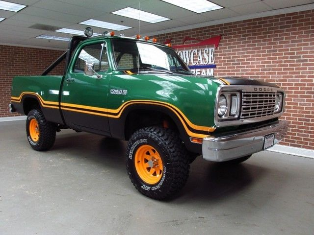 1977 dodge power wagon specifications dodge ram