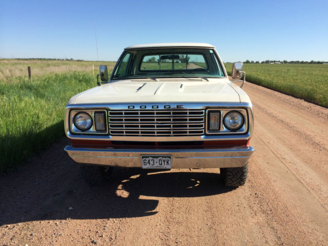 1977 Dodge Power Wagon 4x4 Club Cab For Sale  Photos