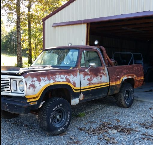 1977 Dodge Power Wagon Macho