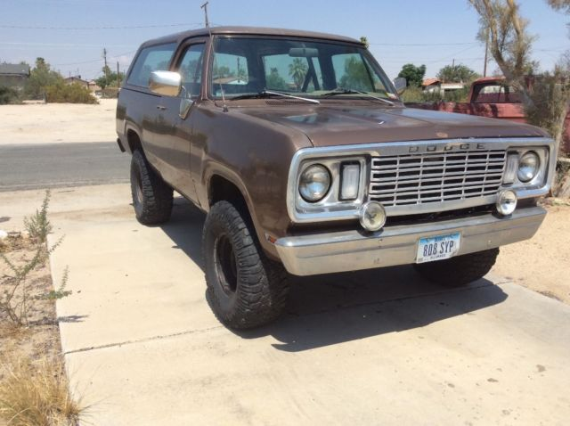 1977 Dodge Ramcharger