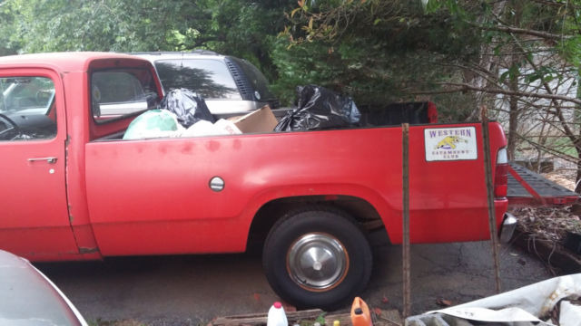 1977 Dodge Truck D100 318 Long Bed For Sale Photos