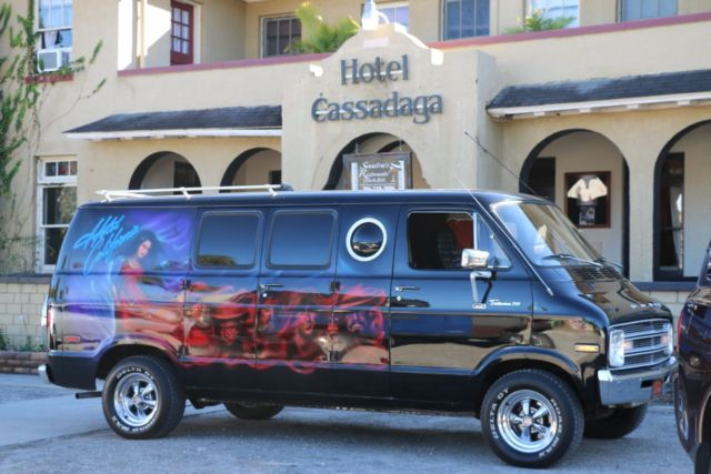 1977 dodge vintage conversion van with eagles hotel california custom artwork for sale photos. Black Bedroom Furniture Sets. Home Design Ideas