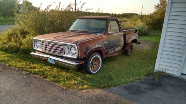 1977 Dodge Warlock D100 Stepside Truck For Sale Photos Technical