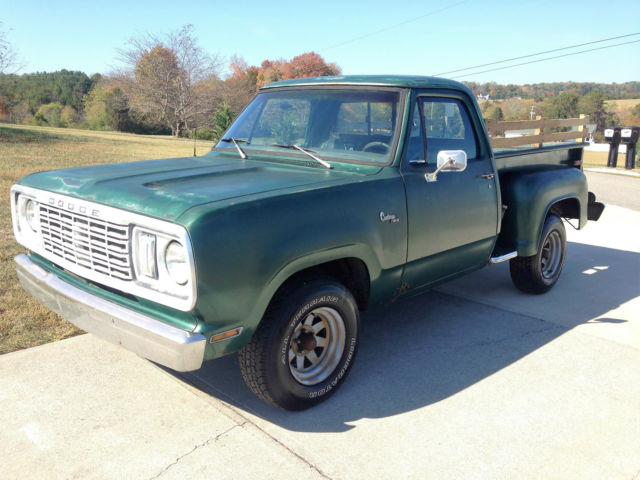 1977 dodge warlock solid southern truck for sale photos technical specifications description. Black Bedroom Furniture Sets. Home Design Ideas