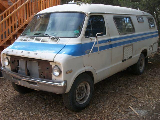 1977 Dodge XPLORER Camper Van RV for sale: photos, technical