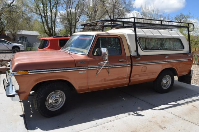 1977 Ford F-250 camper special