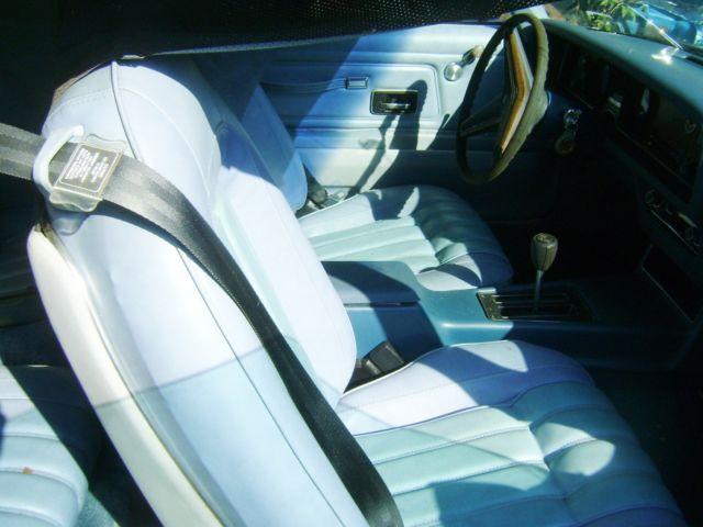 1977 Firebird Espirit For Parts Exceptional Interior 6,000