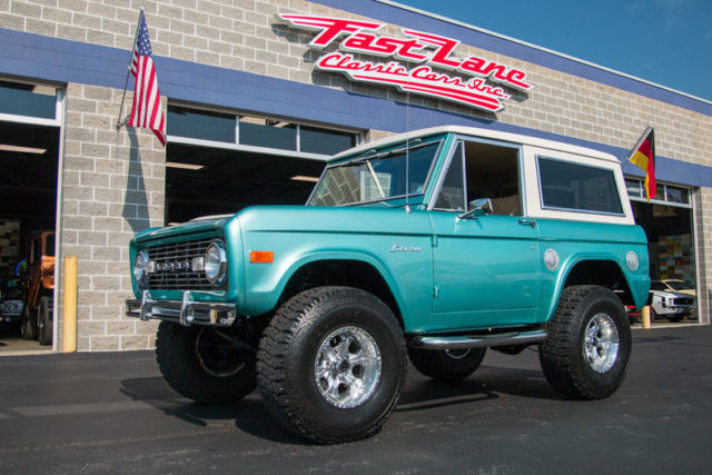 1977 Ford Bronco Custom