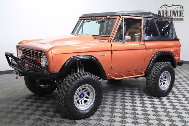 1977 Ford Bronco CRATE ENGINE, CUSTOM AXLES, ONE OFF RESTO