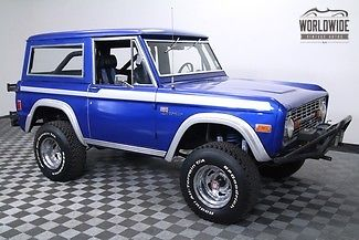 1977 Ford Bronco HO Mustang 302. Best Year! Winch!