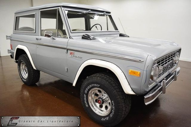 1977 Ford Bronco Sport 4x4
