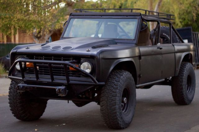1977 Ford Bronco Stretched Trophy Prerunner 4x4 Off Road For Sale