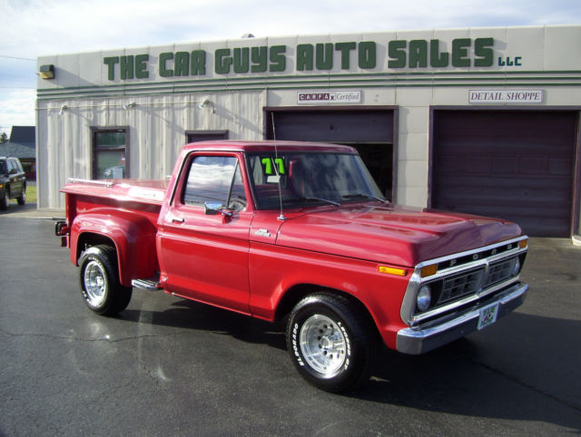 1977 Ford F-100 STEP SIDE
