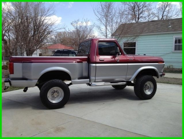 1977 Ford F-150 New High Performance 429ci V8 Engine