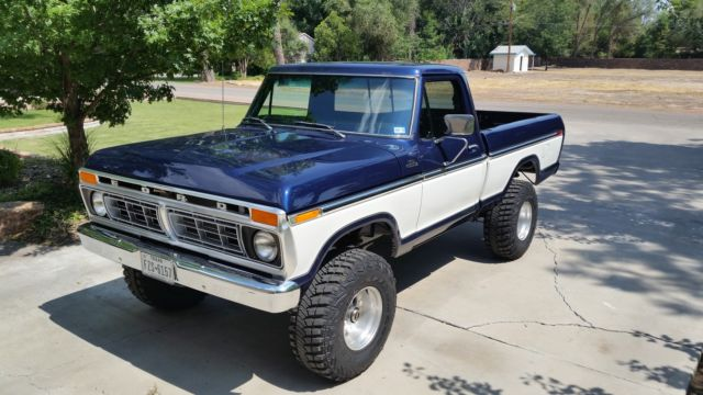 1977 ford f 150 4x4 short bed for sale photos. Black Bedroom Furniture Sets. Home Design Ideas