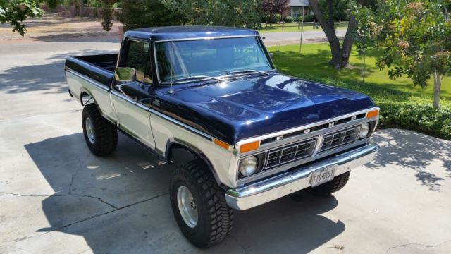 1977 ford f 150 4x4 short bed for sale photos technical specifications description. Black Bedroom Furniture Sets. Home Design Ideas