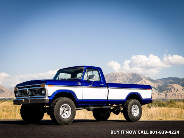 1977 Ford F-250 Ford F250 F-250 RANGER XLT HIGHBOY Custom Ranger