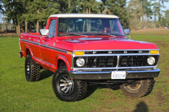 1977 ford f150 4x4 ranger xlt highboy in excellent condition 87 877 miles for sale photos