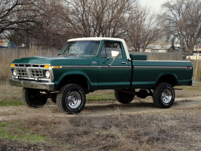 1977 ford f150 ranger 4x4 survivor must see rare last year model for sale photos. Black Bedroom Furniture Sets. Home Design Ideas