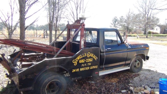 1977 ford f350 wrecker one owner rat rod tow mater excellent project for sale photos. Black Bedroom Furniture Sets. Home Design Ideas