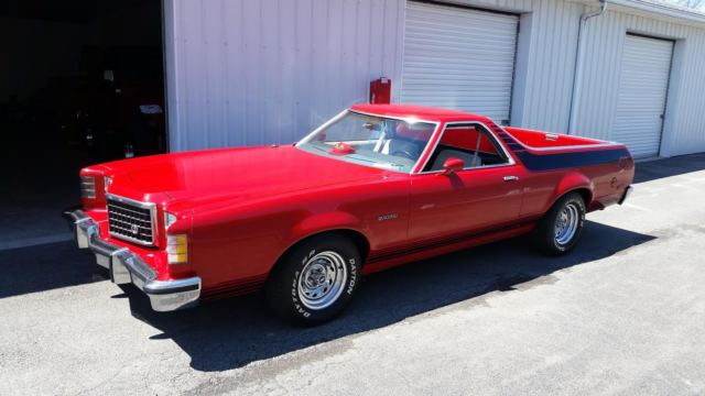 1977 Ford Ranchero GT BROUGHAN