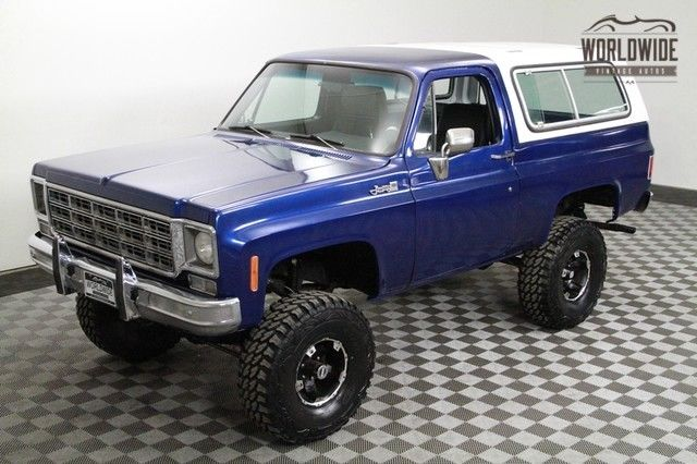 1977 GMC Jimmy RESTORED LIFTED 396 V8 AUTO