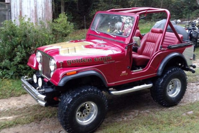 1977 Jeep CJ GOLDEN EAGLE LIMITED EDITION