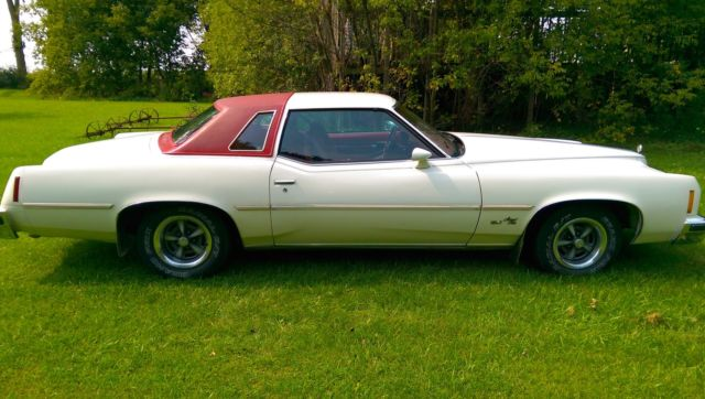 1977 Pontiac Grand Prix Model SJ