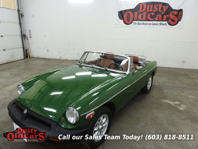 1977 MG MGB Runs Drives Body Interior Excel Season Ready