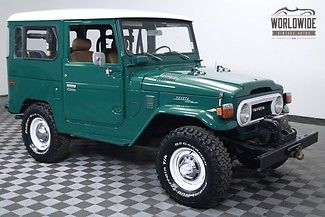 1977 Toyota Land Cruiser Winch. PB. 2F. The one you want!