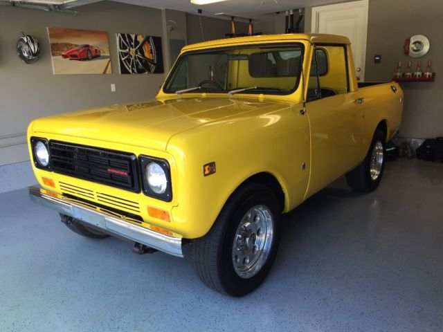 1977 International Harvester Scout 2 Right Hand Drive Rare!!! RHD Scout II IH