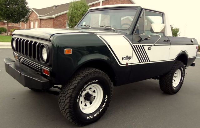 1977 International Harvester Scout Scout 2