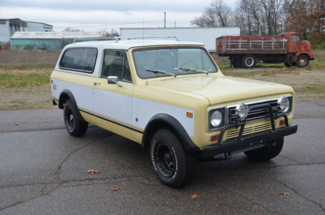 1977 International Harvester Scout 2 door