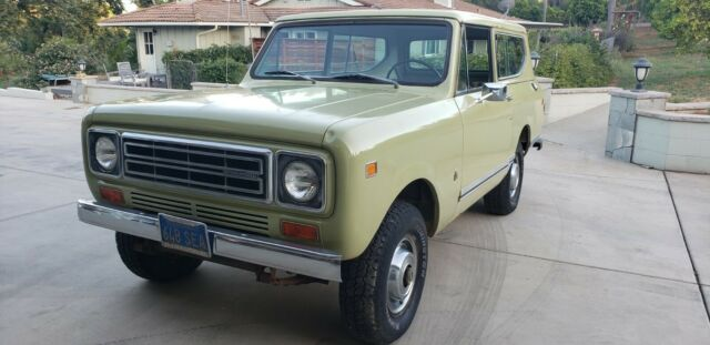 1977 International Harvester Scout Deluxe