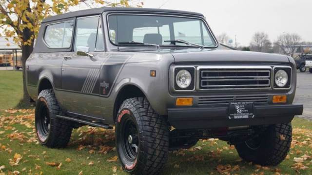 1977 International Harvester Scout RALLY