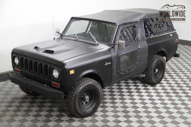 1977 International Harvester Scout SS II. Factory soft top & doors. Rare 392V8.