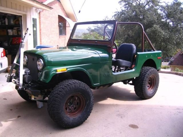 1977 JEEP CJ7 258 Engine 3 speed Hunters Dream daily and off road ...