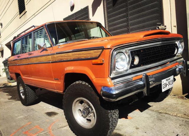 1977 Jeep Wagoneer Custom