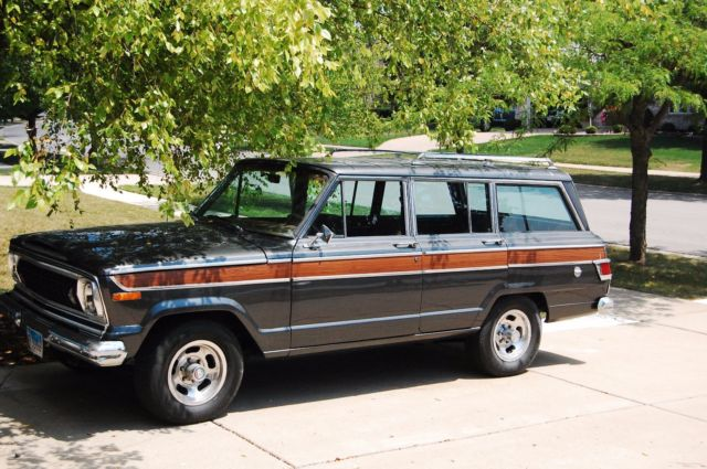 Jeeps For Sale In Florida >> 1977 Jeep Wagoneer For Sale   The Wagon