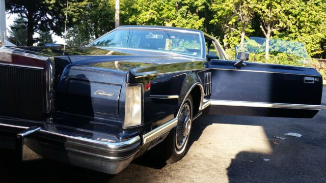 1977 Lincoln Mark Series Bill Blass Series