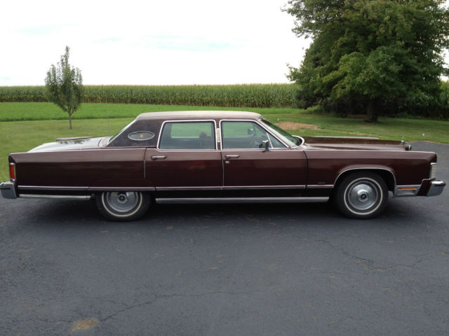 1977 Lincoln Continental Town Car 4 Door 32 000 Miles Original For