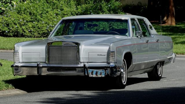 1977 Lincoln Town Car TRUE TIME CAPSULE