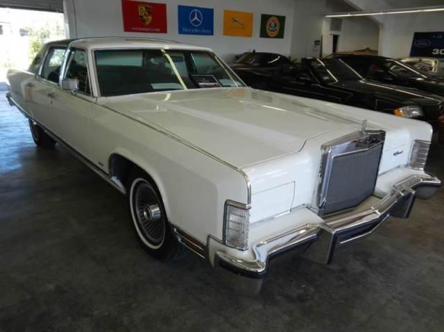 1977 Lincoln Town Car All Original 41 000 Miles Barret Jackson