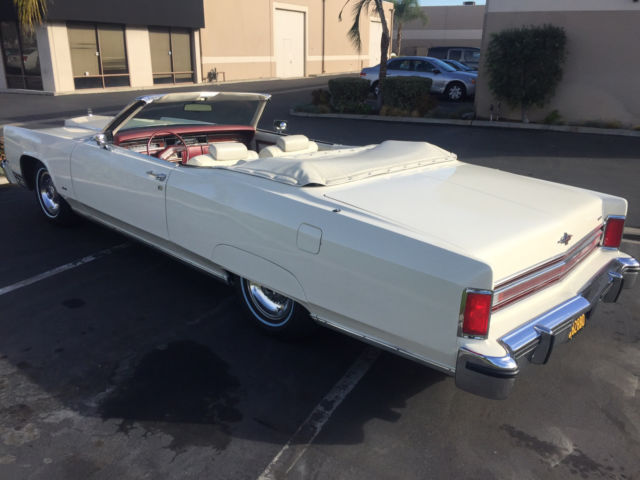 1977 Lincoln Town Coupe Convertible Once Owned By Joey Afuoco