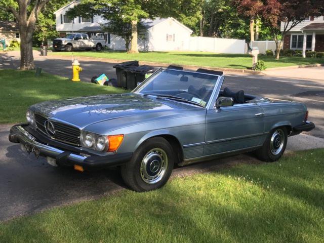 1977 Mercedes Benz 450sl Convertible Hard Top Soft