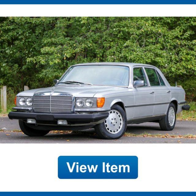 1977 Mercedes Benz 6.9 450S Super Low 84K Mi Best Merc