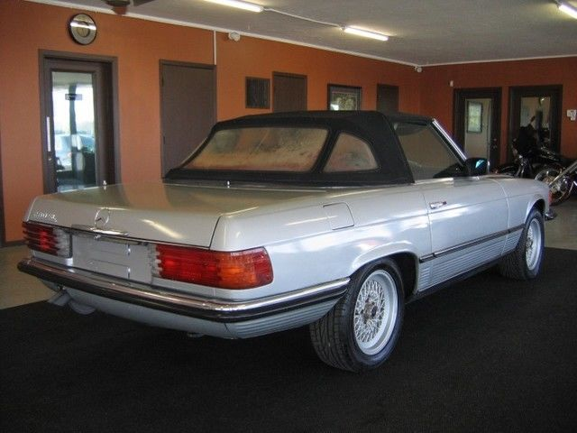 1977 Mercedes-Benz SL-Class 280SL Roadster Convertible Manual Transmission