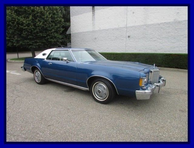 1977 Mercury Cougar Just 28k Miles