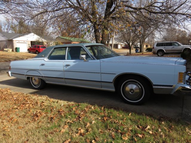 1977 Mercury Grand Marquis 4 Door Pillared Hardtop, Original